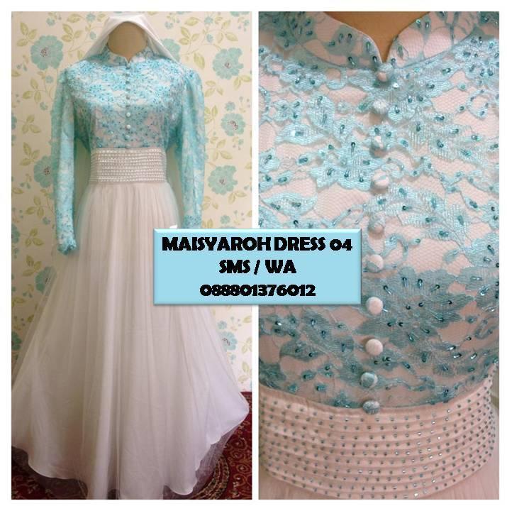 Baju Lebaran Dan Baju Pesta Maisyaroh Dress 04 Bisa