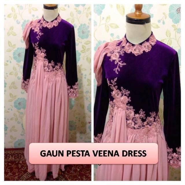 Baju Pesta Batik Kombinasi Sifon Images