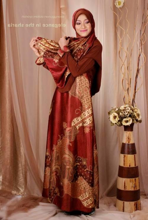 Couple Batik Muslimah