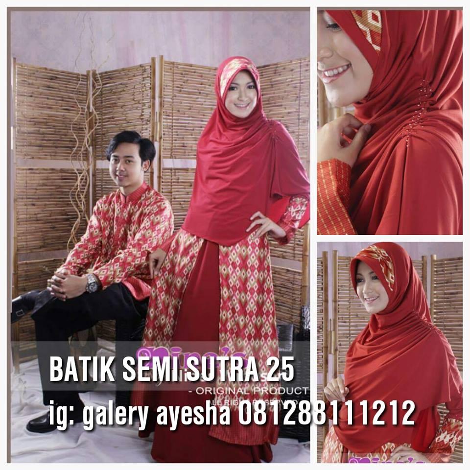Couple Batik Syar I Galeri Ayesha Jual Baju Pesta