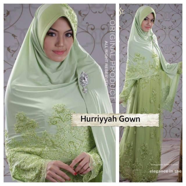 Huriyyah Gown JUAL BAJU PESTA MODERN SYAR I DAN STYLISH