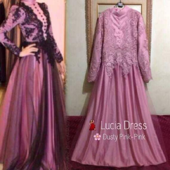 Gaun Pesta Lucia Dress Made By Order Galeri Ayesha