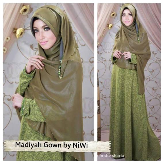 Madiyah Gown Galeri Ayesha Jual Baju Pesta Modern Syar