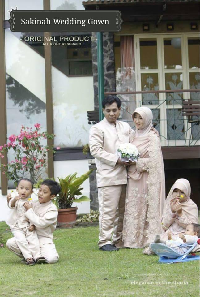Sakinah Wedding Gown Baju Lamaran Islami Baju Lamaran