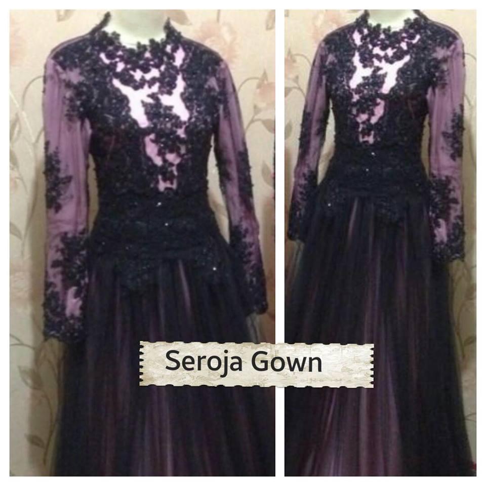 Seroja Gown Galeri Ayesha Jual Baju Pesta Modern Syar