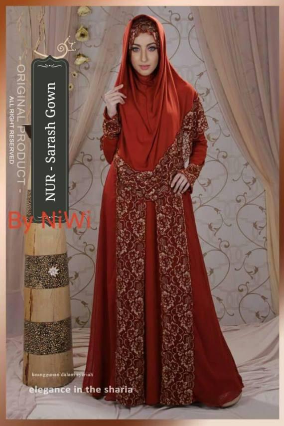 Gaun Pesta Dan Lamaran Muslimah Sarash Gown Made By Order