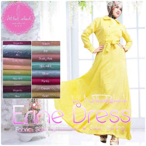 Baju Pesta Erine Kimono Dress by Nitha Rahadi, Gaun Pesta Satin Hermes, Gaun Pesta Katun Balotelly, Gaun Pesta Murah, Gaun Pesta Couple, Gaun Pesta Seragam Keluarga, Gaun Pesta Polos, Gaun Pesta Made by Order