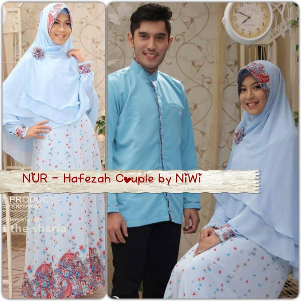 Hafezah couple galeri ayesha jual baju pesta modern Baju couple gamis dan koko