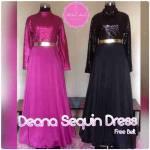 Baju Pesta Deana Sequin Dress 02