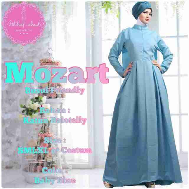 Mozart Dress Made By Order Galeri Ayesha Jual Baju