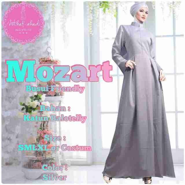 Mozart Dress Galeri Ayesha Jual Baju Pesta Modern Syar