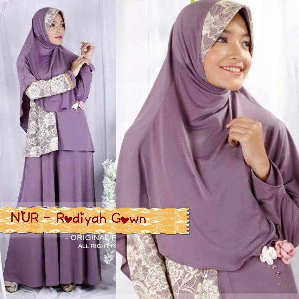 Rodiyah Gown Galeri Ayesha Jual Baju Pesta Modern Syar