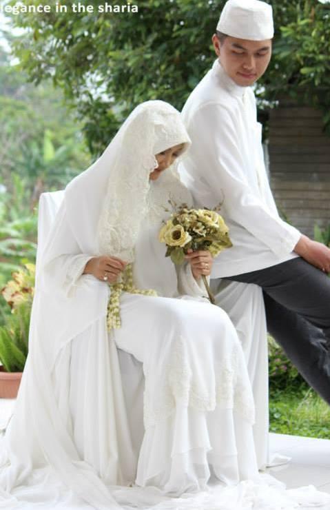 Aziza Gown Wedding Baju Lamaran Islami Baju Lamaran