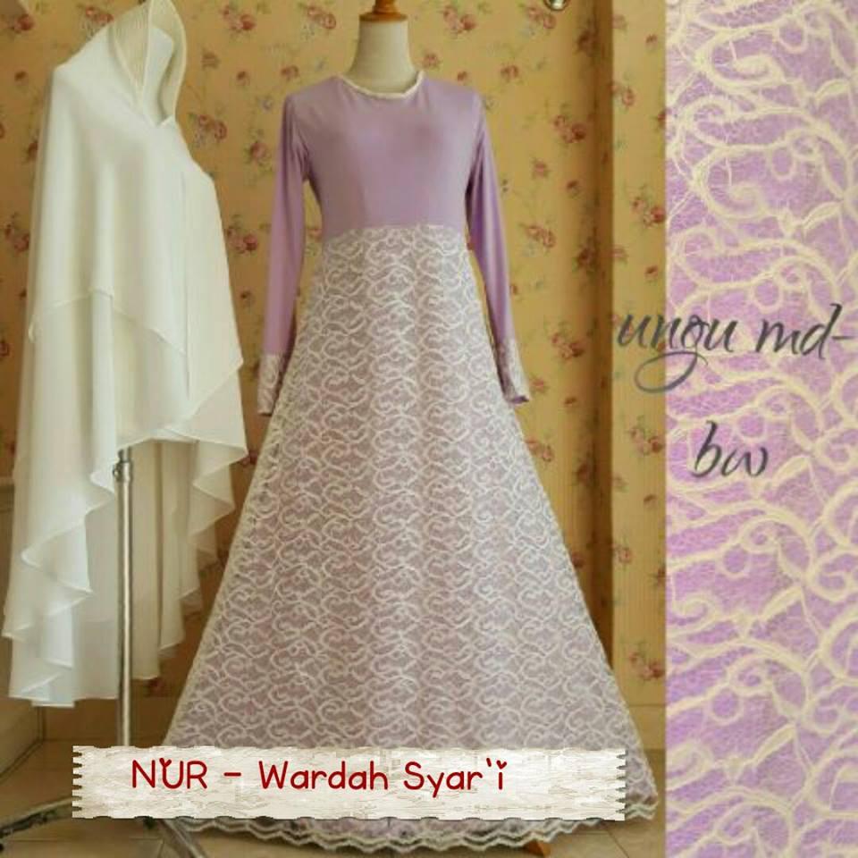 Gaun Akad Nikah Galeri Ayesha Jual Baju Pesta Modern Syari