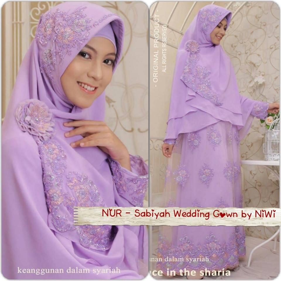 Gaun Pengantin Syar I Sabiyah Gown By Nines Widosari Baju Lamaran