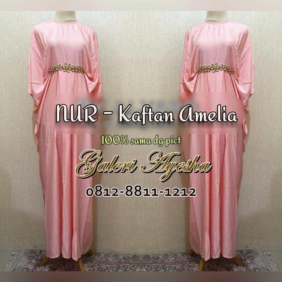 Baju Batik Seragam Keluarga Tanah Abang: Kaftan-lebaran-dan-kaftan-pesta-amelia-floy-by-alvaro-78