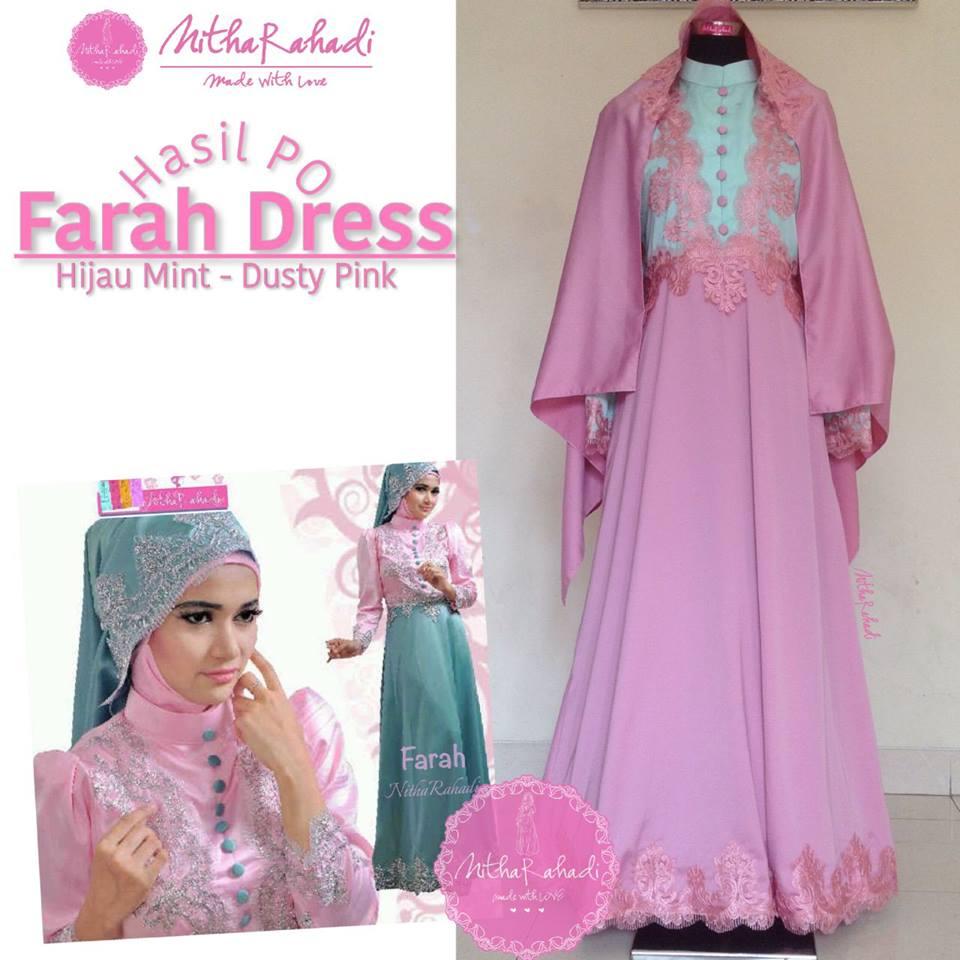 Gamis Lebaran Dan Gamis Pesta Farah Dress Made By Order