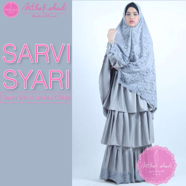 Gamis Brokat Galeri Ayesha Jual Baju Pesta Modern Syar