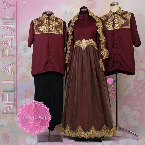 Baju Lamaran Muslimah Baju Pesta Akhwat Baju Pesta